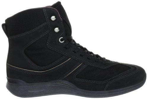 Ecco MOBILE II 202643 Damen Bootschuhe Schwarz (Black/Black/ Nubukleder 53994)