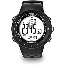 La Crosse Technology–Reloj Altímetro, Barómetro, Brújula, color WTXG17 Blanc