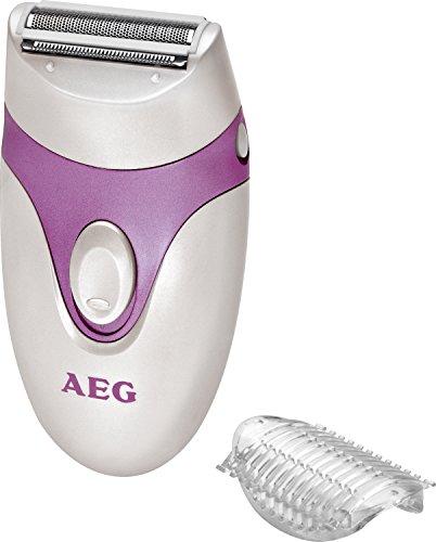 AEG LS 5652 - Afeitadora feminina, color lila