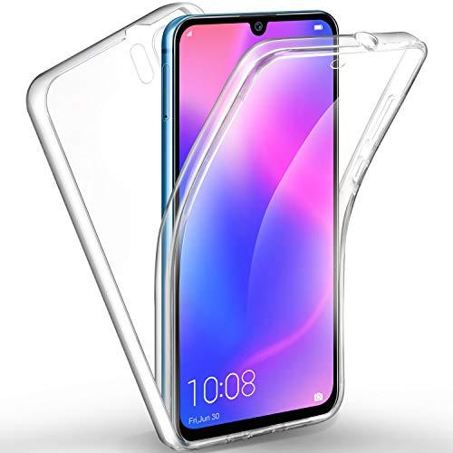 AROYI Funda silicona cubierta transparente 360 grados