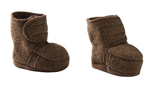Disana 34405XX - Walk-Babyschuhe Wolle haselnuß, Size / Größe:S (Baby-programme)