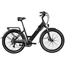 Legend eBikes Milano 36V14Ah Bicicleta Eléctrica Plegable, Unisex Adulto, Onyx Black, Talla Única