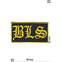 LipaLipaNa Black Label Society BLS - -Heavy-Metal-Band Aufnäher Besticktes Patch zum Aufbügeln Applique Souvenir Zubehör