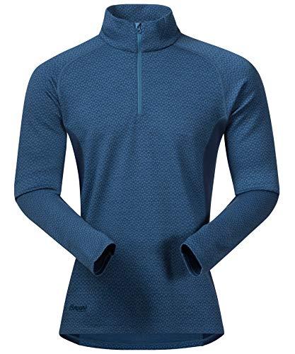 Bergans Snoull Half Zip Men Longsleeve Shirt - 290er Merinowolle Thermounterwäsche Mens Long Sleeve Half Zip