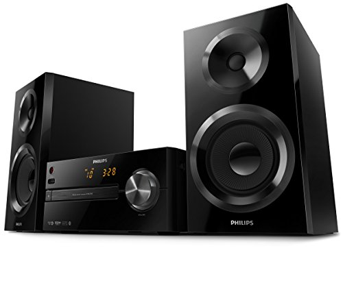 Philips btm2560/12 sistema musicale micro (cd, cd-mp3, usb, fm), nero