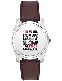 BigOwl I Am In Love With You | For Couples Him/Her Fashion Watches For Girls - Awesome Gift For Daughter/Sister...