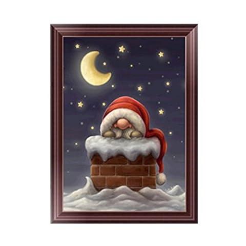 dairyshop 5D Diamant Gemälde Santa Claus Stickerei DIY Arts Kreuzstich Weihnachts HOME DECOR