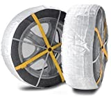 Best Snow Socks - Snow Socks, Fabric Snow Chains for Tyres Review