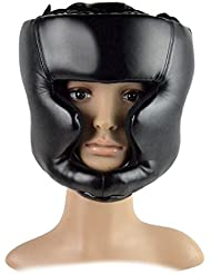 Boxe MMA casque - casque de formation All4you cuir boxe combat tête garde casque Sparring