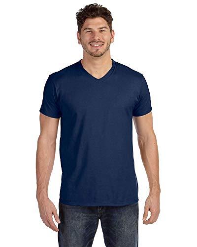 Hanes V-neck T-shirts (Hanes Men's 6-Pack V-Neck T-Shirt - 3 Vintage Red / 3 Vintage Navy - XXX-Large)