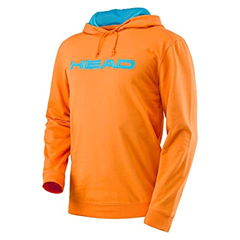Head TRANSITION M BYRON HOODY orange/lightblue - XL