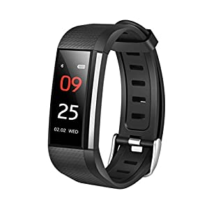 'Fitness And Wellness Activity Tracker Smart Watch for Android IOS Vneirw M200 0.96 Sport Watch Smart Watch with Bluetooth/Heart Rate Monitor/Pedometer Blood Print
