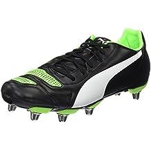 Rugby Kooga - Chaussures De Rugby Pour Les Hommes, La Taille 6, Couleur Noire