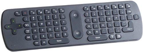 GeneralKeys PC Fernbedienung: 3in1-Funk-Air-Maus mit Multimedia-Tastatur & Fernbedienung (Airmouse)
