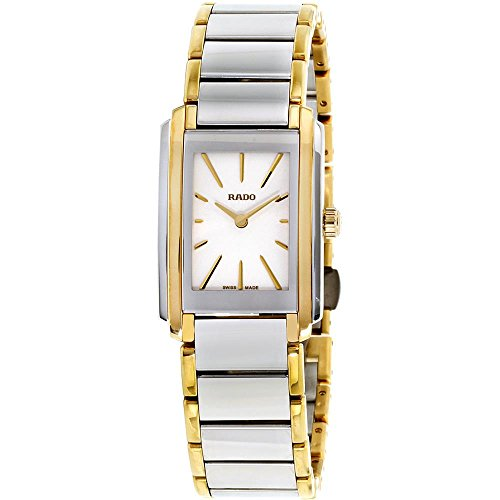 Rado Women's Integral Two Tone Steel Bracelet Quartz Analog Watch R20212103