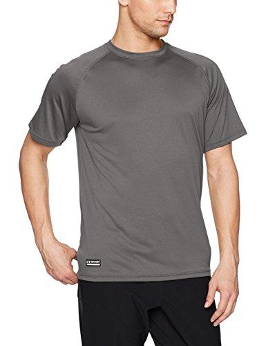 Under Armour Men Tech Polo Short Sleeve T-Shirt, (black), Large
