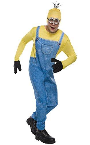 s Minion Kostüm für Erwachsene, Standardgröße (Minions Halloween-kostüme Für Erwachsene)