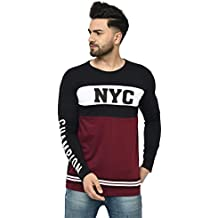 Tfortees Men's Cotton Round Neck Full Sleeve Printed Tshirt