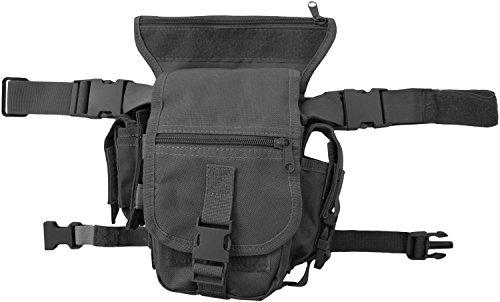 Hüfttasche, Hip Bag, Security, Bein- und Gürtelbefestigung Farbe Schwarz