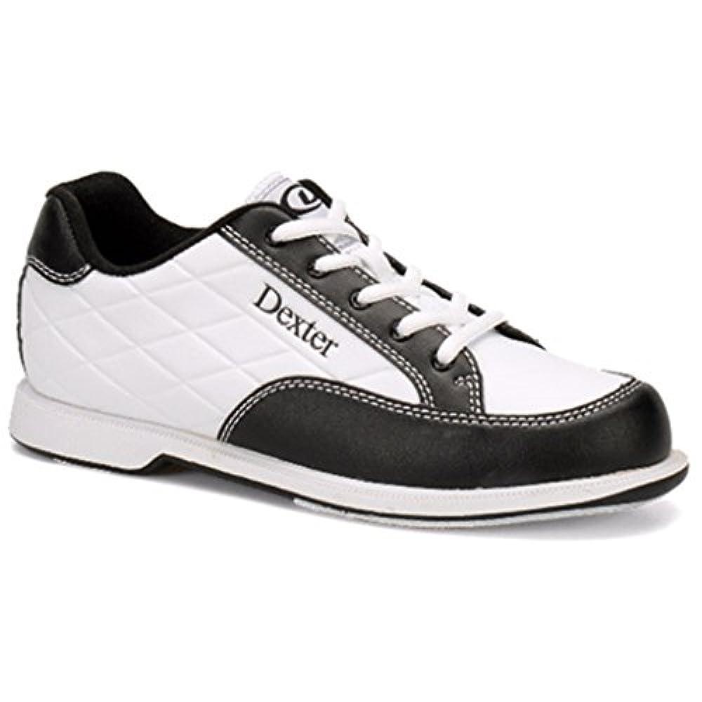 Dexter Groove III Damen Bowlingschuhe Breit, weiß/schwarz, Gr. 9, 5