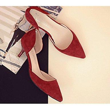 Zapatos De Mujer Ch & Tou-casual-cómodo-poca-pu (poliuretano) -negro Rojo Gris Caqui Blanco