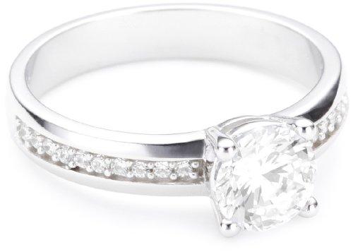 Esprit Damen-Ring grace 925 Sterling Silber glam Gr.53 (16.9) ESRG91609A170