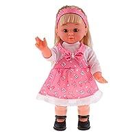 CUTICATE Full Vinyl Girl Doll, Singing and Walking Doll Toy, Children Kids Birthday Gift (Dolls Dress is Random)