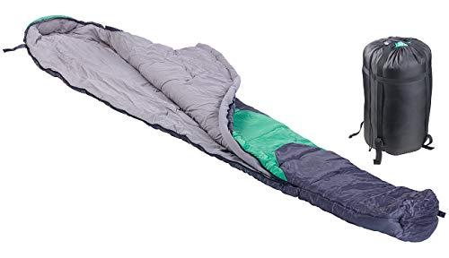 Semptec Urban Survival Technology Frühlings-Schlafsack: 3-Jahreszeiten-Mumienschlafsack für Kinder, 170 x 70 x 50 cm (Einzel-Schlafsack) -