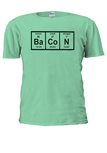 NisabellaLTD -  T-shirt - Maniche corte  - Uomo Mint Green Medium