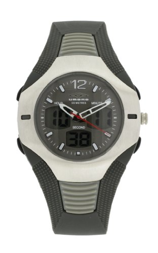 Umbro U827 - Reloj de caballero de cuarzo color gris
