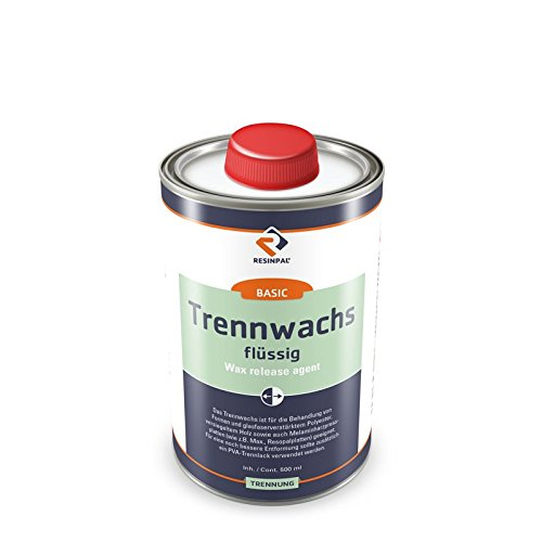 500 ml Trennwachs (flüssig) - Trennmittel für Epoxidharz und Polyesterharz