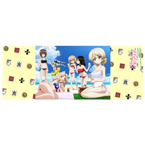 """Preisvergleich Produktbild Body Wash Handtuch """"Arai ~ tsumusume"""" Girls & Panzer Summer Vacation (Japan Import / Das Paket und das Handbuch werden in Japanisch)"""