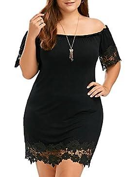 ishine faldas talla grande mujer vestido largo elegante como un regalo