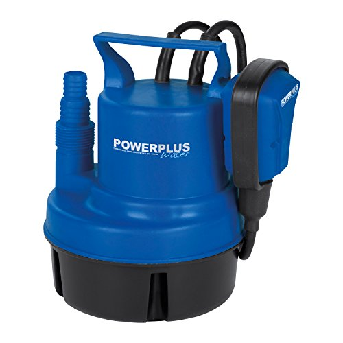 Klarwasser Tauchpumpe, Wasserpumpe, Frischwasserpumpe 200 Watt, Durchflussgeschwindigkeit 3.500 l/h – Art. POW67900
