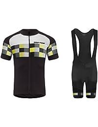 Uglyfrog 2016 Manga Corta Maillot+Bib Pantalones cortos Bodies Ciclismo De Hombre Verano Ropa De triatlon Transpirables Cycling Sets HDZ08