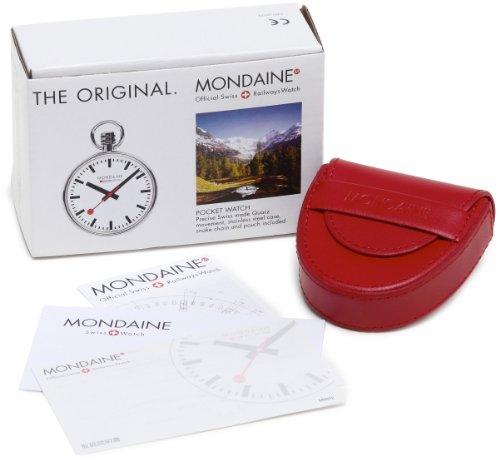 Mondaine-SBB-Taschenuhr-mit-Kette-Schweizer-Bahnhofsuhr