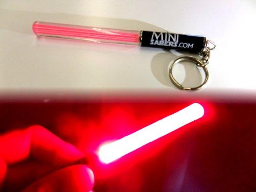 ght Rot Saber Knicklichter LED Clubs Schlüsselanhänger Star Wars Jedi Sith Grillparte V, dance Verspätung Kühles Rot, grün oder rosa (rot) (Star Wars Light Saber)
