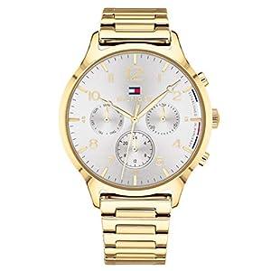 Tommy Hilfiger Reloj Multiesfera para Mujer de Cuarzo con Correa en Acero Inoxidable 1781872