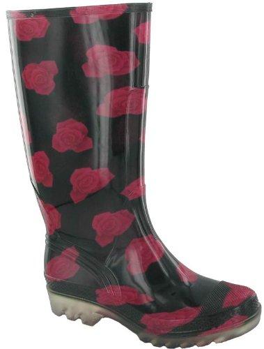 Cotswold, Stivali Wellington donna Rosso (rosa)