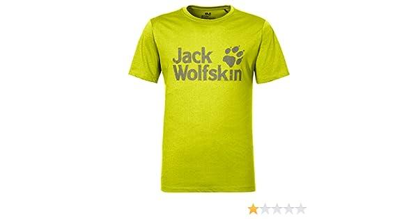 e5259180970 Jack Wolfskin Men's Pride Function T-Shirt, Flashing Green, Medium:  Amazon.co.uk: Sports & Outdoors