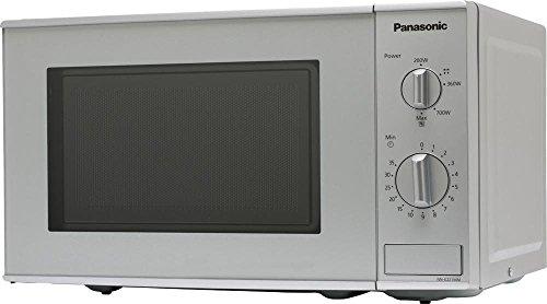 Panasonic nne221mmepg Horno a microondas Capacidad 20Litros Potencia 800W), Silver