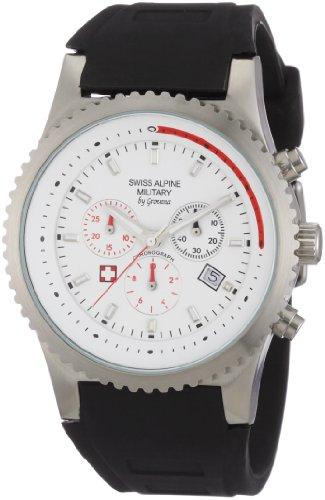 Swiss Alpine Military Herren-Armbanduhr SP 287 Chronograph Quarz 2870.9833SAM
