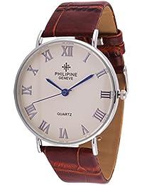 Wooum Philipine White Dial Analogue Wrist Watch for Men-308