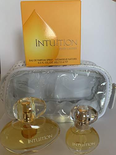 Estee Lauder Intuition EDP Spray Set 15 ml + 5 ml Mini + Täschchen -