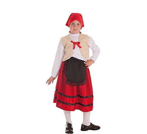 Zzcostumes Kostüm der Hirtin mit Weste für Ein ()