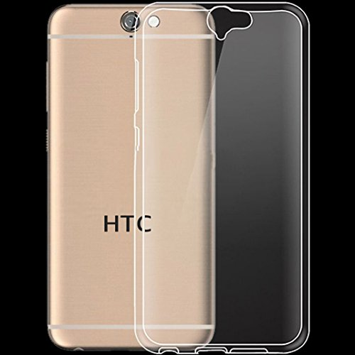 HTC One A9 Ultra Slim Super dünn Schutzhülle Silikon Case Tasche Durchsichtig