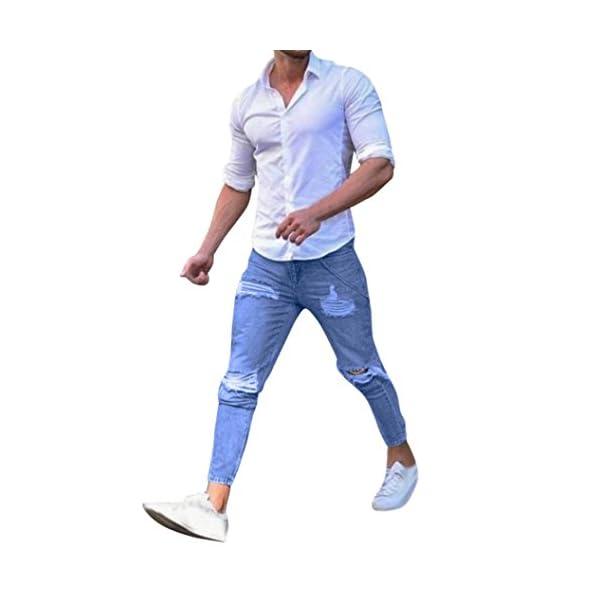 4ed1d883a7b Manadlian Hombres Pantalones Hombres Pantalones