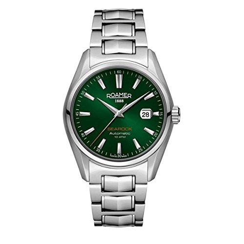 Roamer Herren-Armbanduhr Analog Automatik Edelstahl 210633 41 75 20