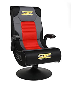 BraZen Spirit 2.1 Bluetooth Surround Sound Gaming Chair produced by BraZen - quick delivery from UK.