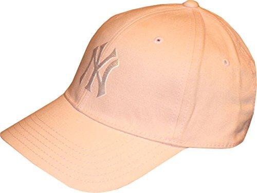 Unisex  Official N.Y.Major League Baseball Ivory//Cream Knit  Beanie  Hat